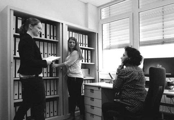 Mitarbeiterinnen der Steuerberater Kanzlei Thurner in Stuttgart-Degerloch